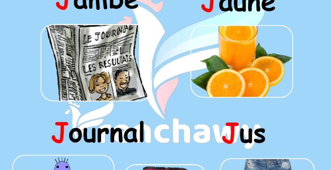 Alphabet français-la-lettre-j-Rahaf-Walid
