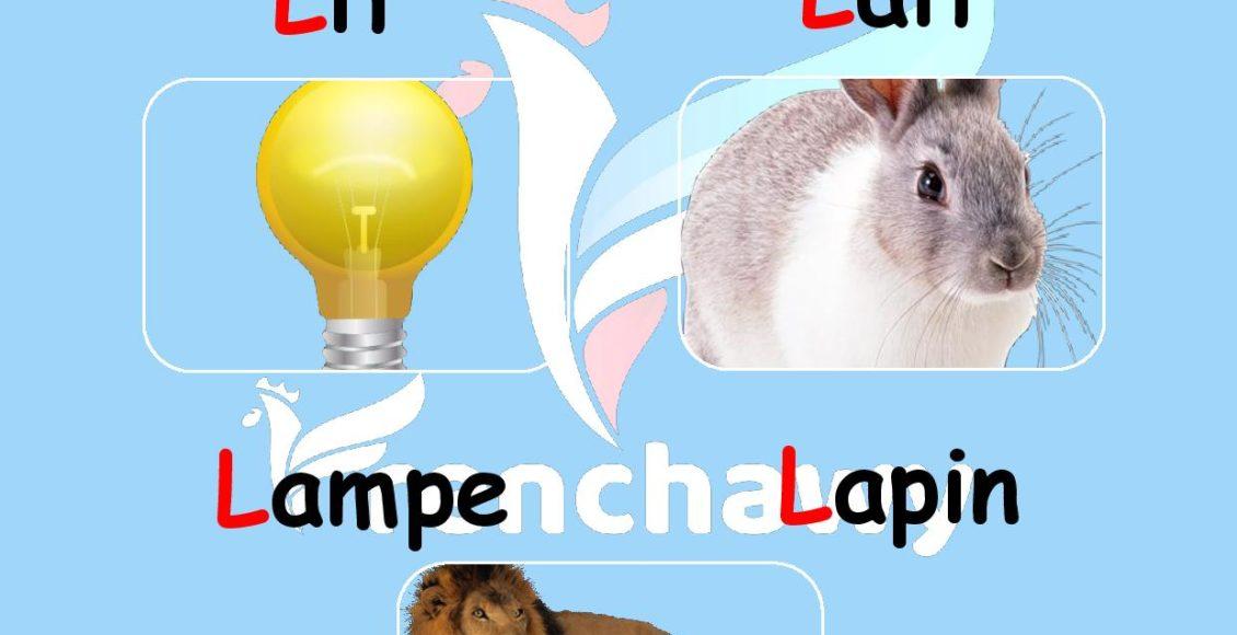 Alphabet français-la-lettre-l-Rahaf-Walid