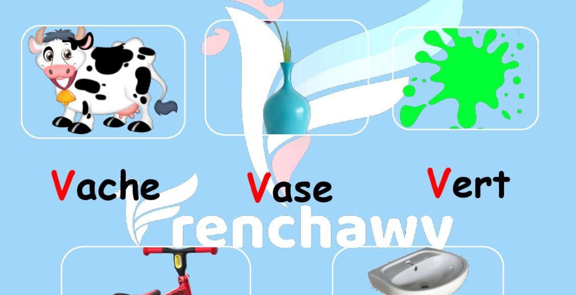 Alphabet français-la-lettre-v-Rahaf-Walid