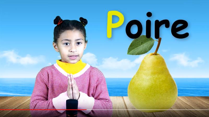 l'alphabet français la lettre p