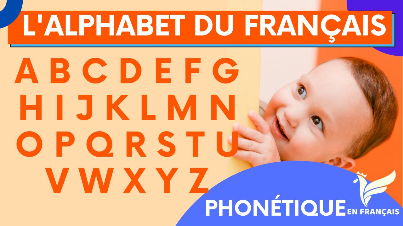 L'alphabet français